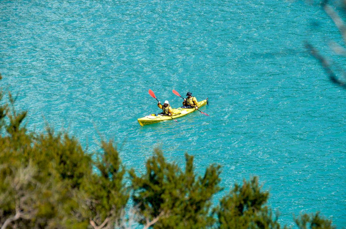 Kayak dans le parc national Abel Tasman