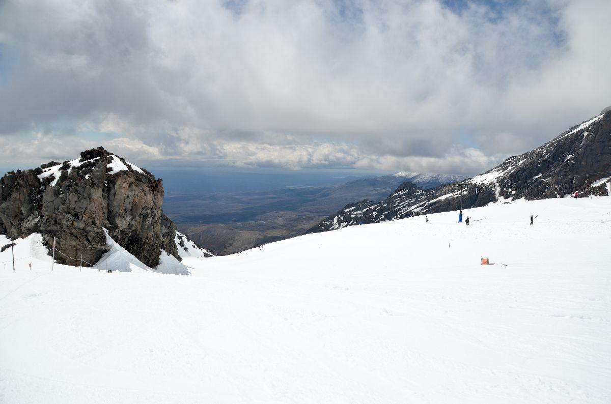Skier sur un volcan