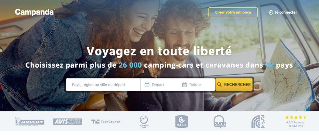 Campanda Le Specialiste De La Location De Camping Car Entre Particuliers