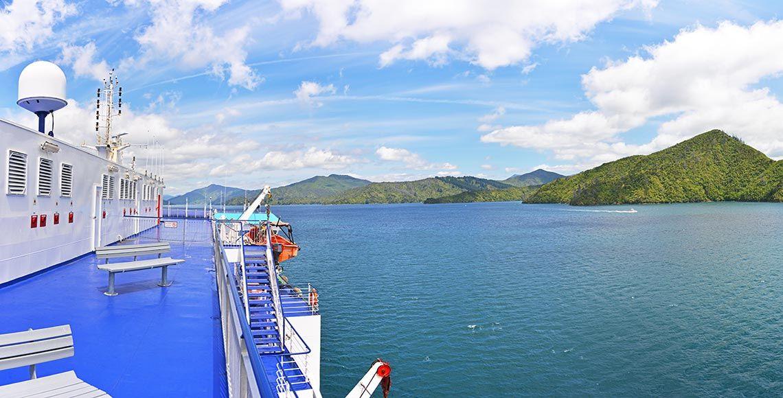 Réserver le ferry en Nouvelle-Zélande : de Wellington à Picton