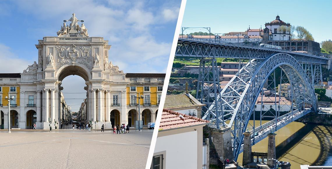 Portugal : Porto ou Lisbonne ?