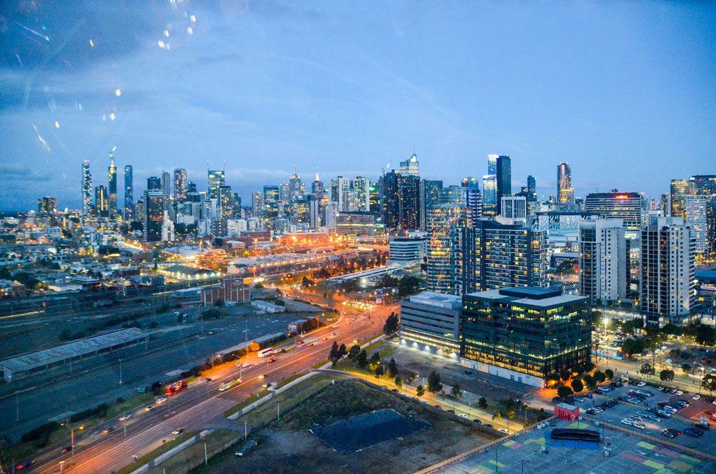 Melbourne-vue-grande roue