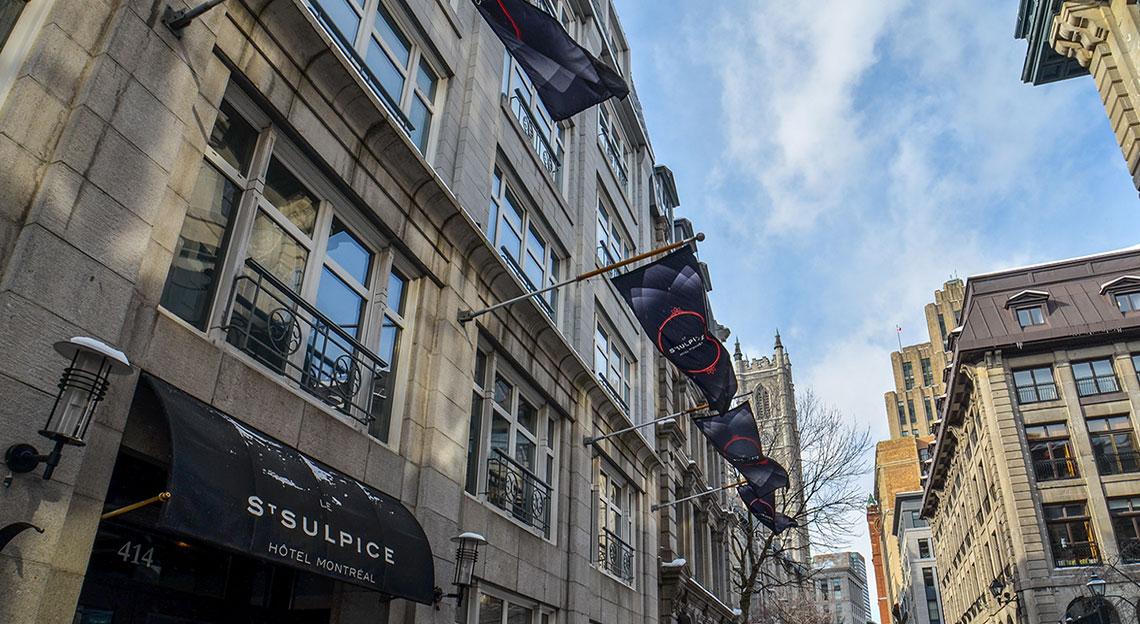 Hôtel Saint-Sulpice, l'un des meilleurs hôtels de Montréal