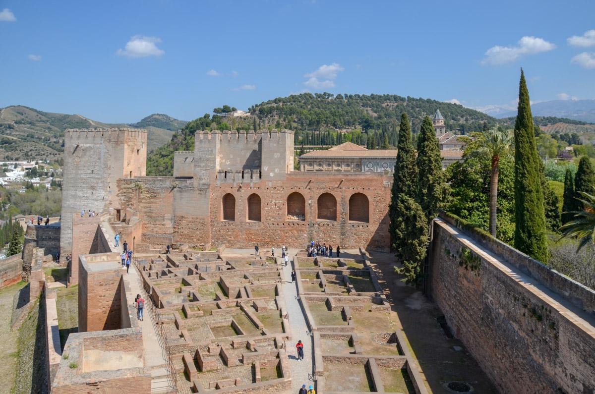 Alcazaba-Alhmabra-Grenade