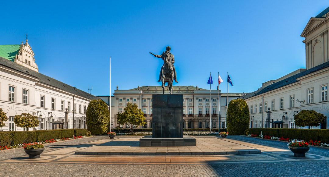 Varsovie-palais-presidentiel