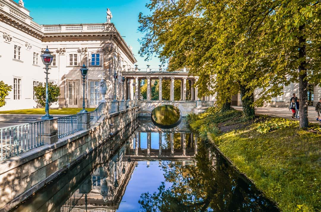 Varsovie-parc-lazienki-palais
