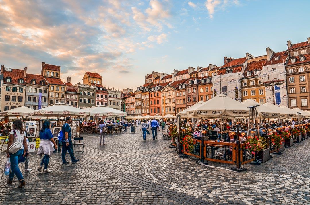Varsovie-place-vieille-ville