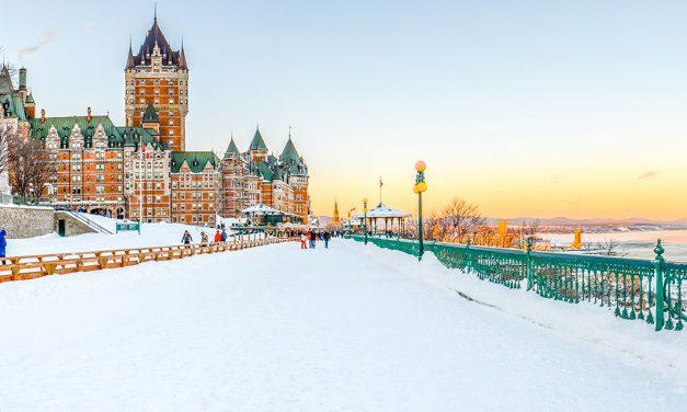 Le Québec en hiver
