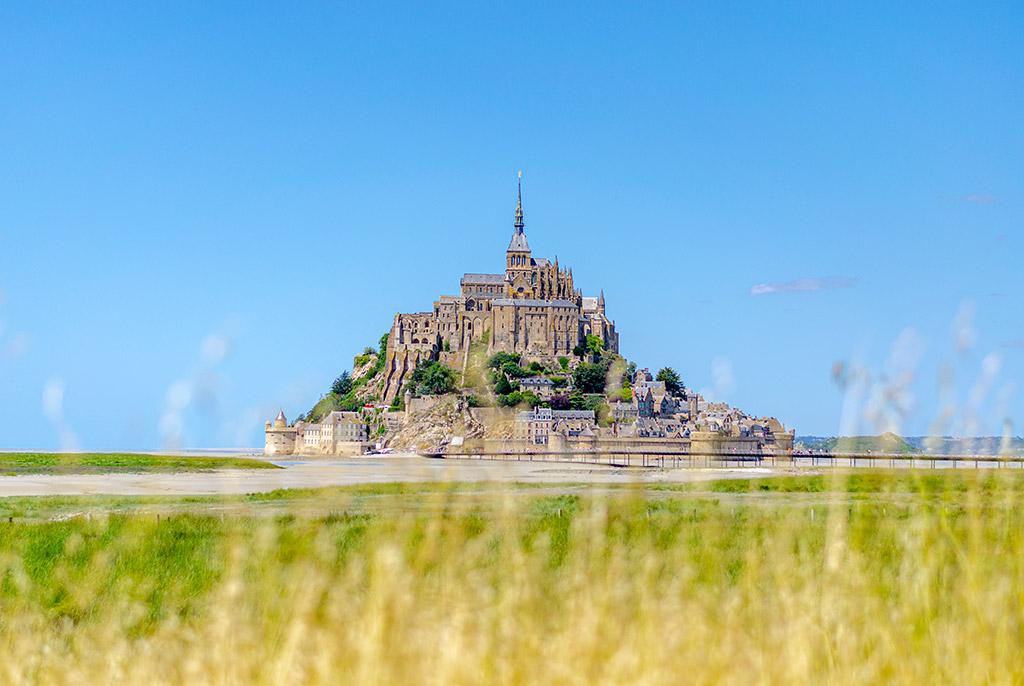 Vue sur le Mont Saint Michel