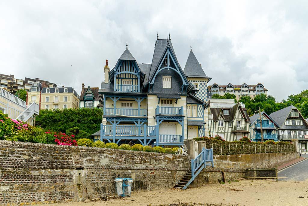 Que faire en Normandie Trouville Plage
