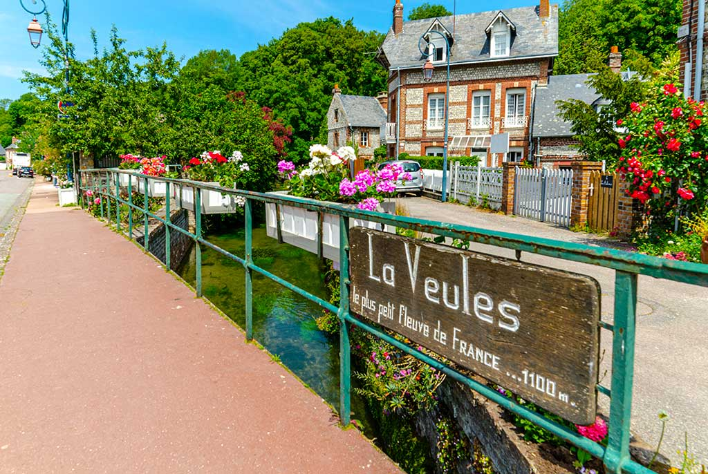 Que faire en Normandie Veules les Roses