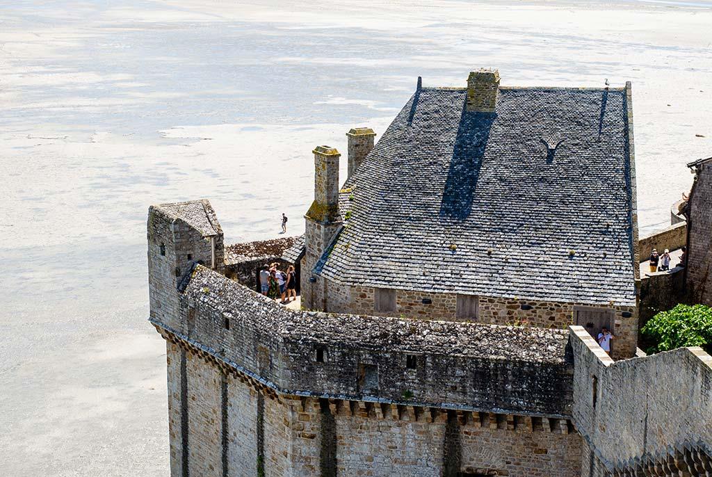 Visiter Mont Saint Michel - Remparts