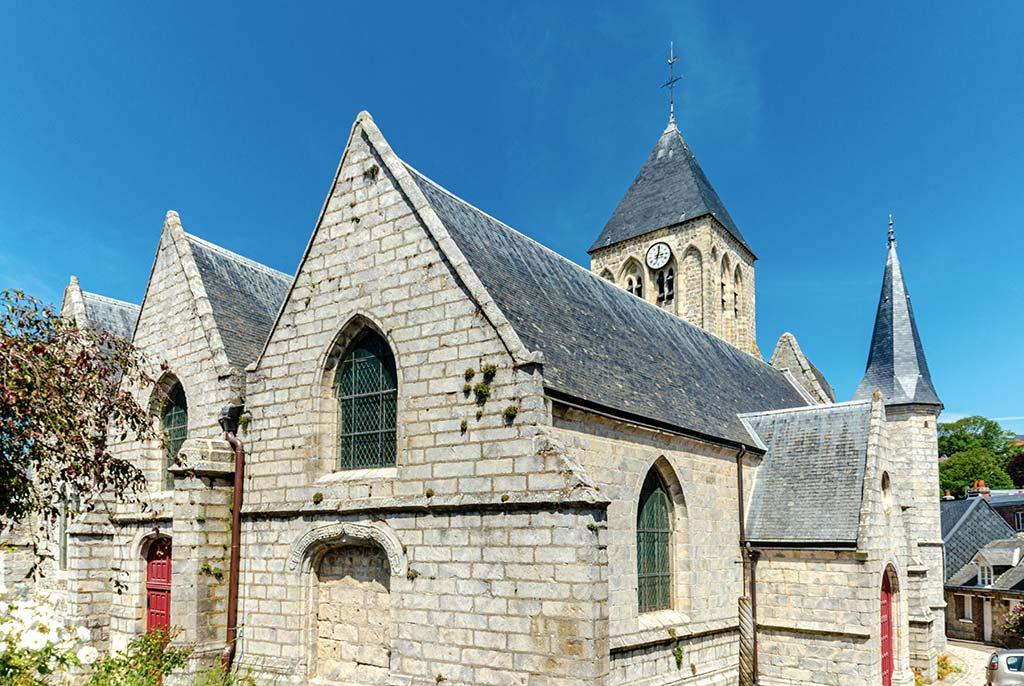 Visiter Veules les Roses Eglise St-Martin