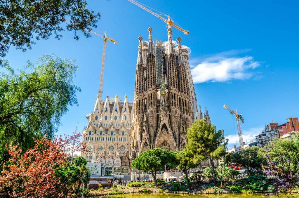 Barcelone-Sagrada-familia