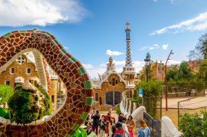 Barcelone-vue-parc-guel