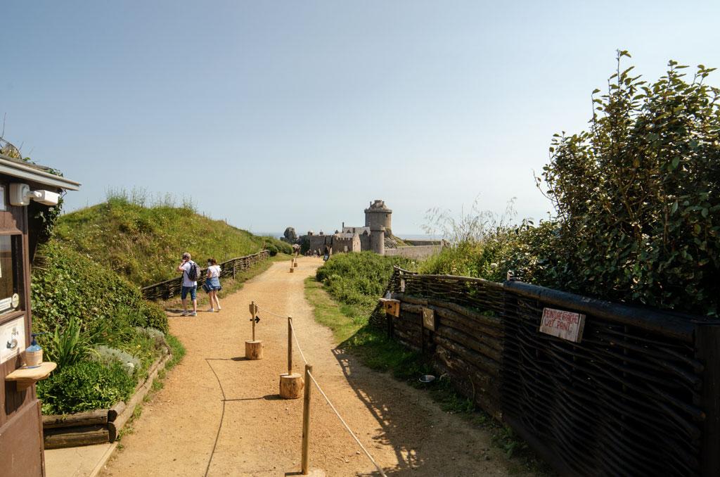 Fort La Latte - Entrée