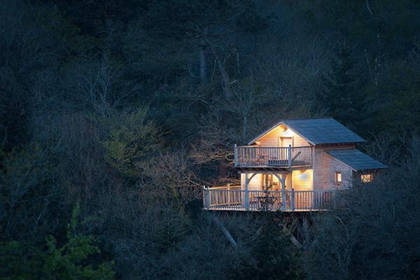 Logement Insolite Bretagne - Lodge Canopée