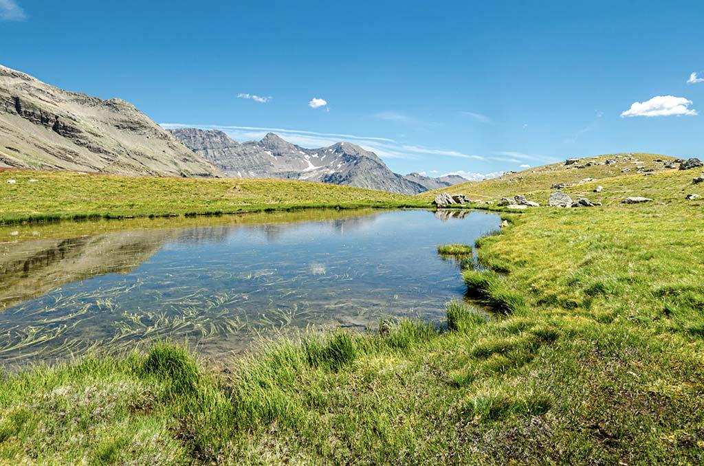 Promenade des lacs Orcières-Merlette