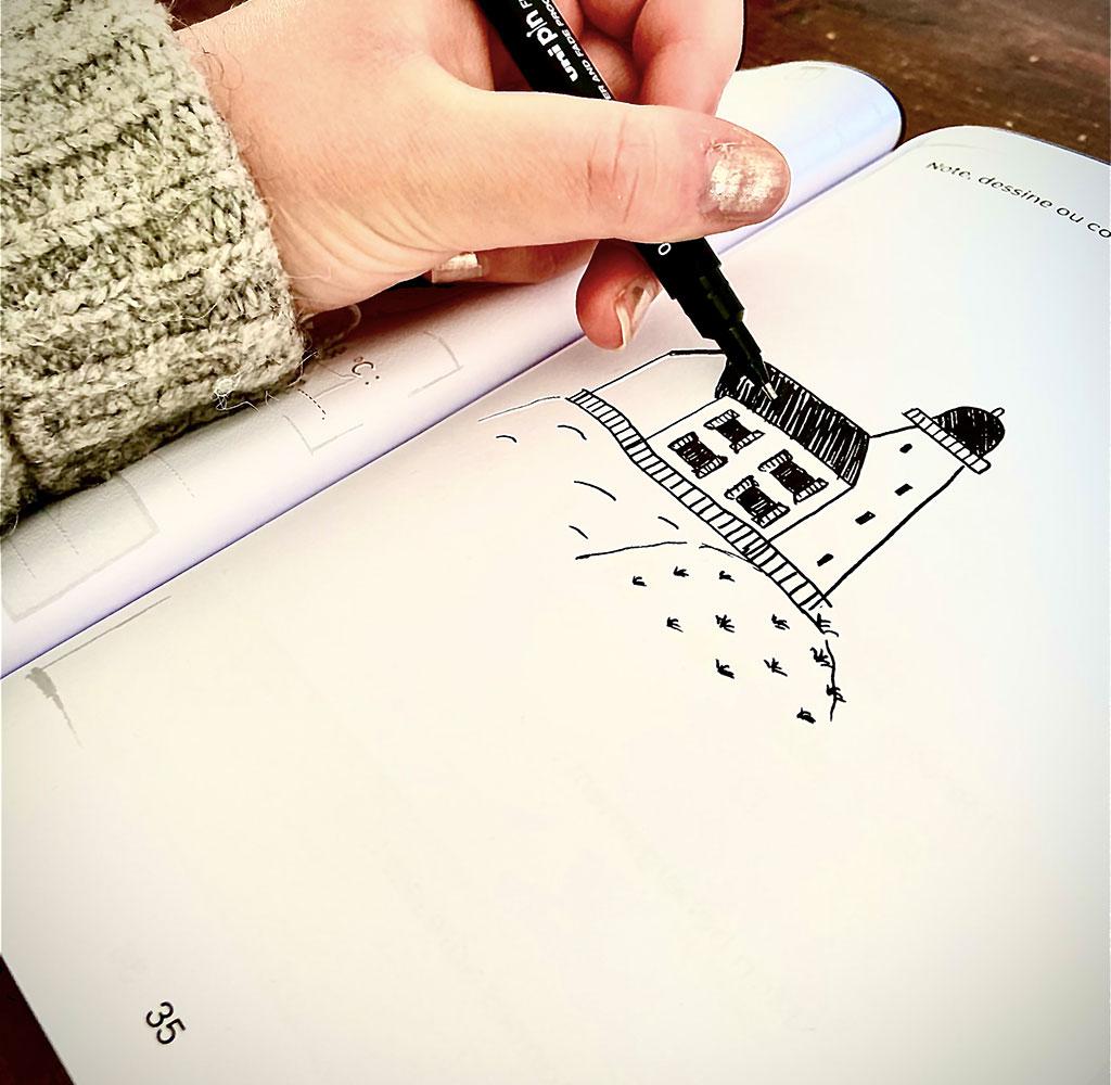 Carnets illustration intérieur