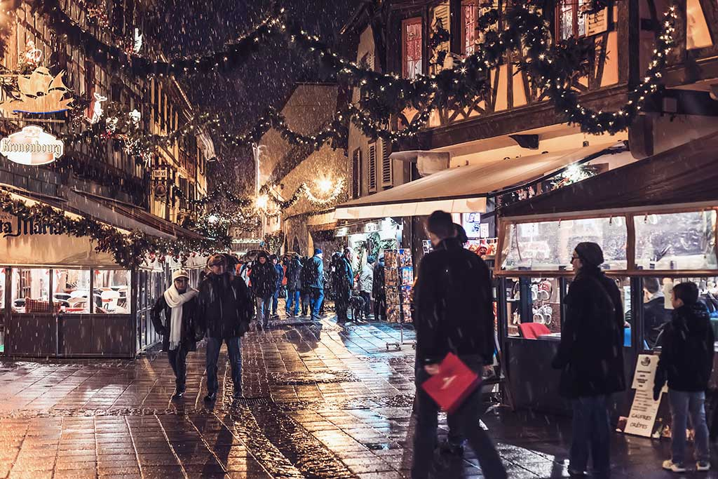 Obernai : marché de Noël en Alsace