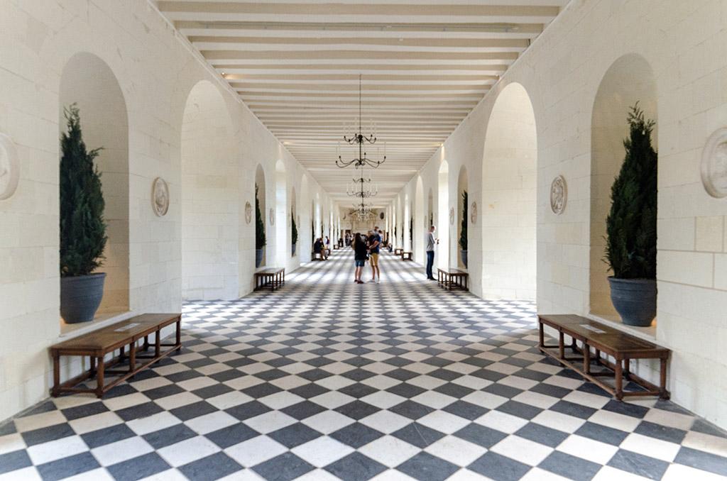 Visiter Chenonceau - La Galerie