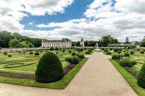 Château de Chenonceau - Jardin de Diane de Poitiers