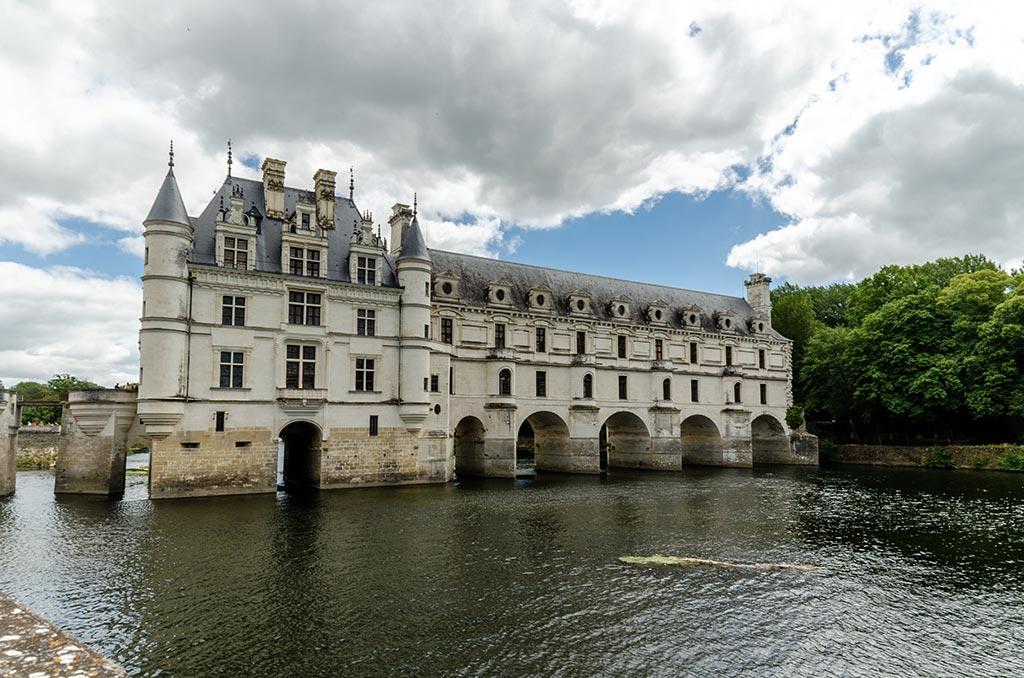 Visiter le Château de Chenonceau - Traversée du Cher