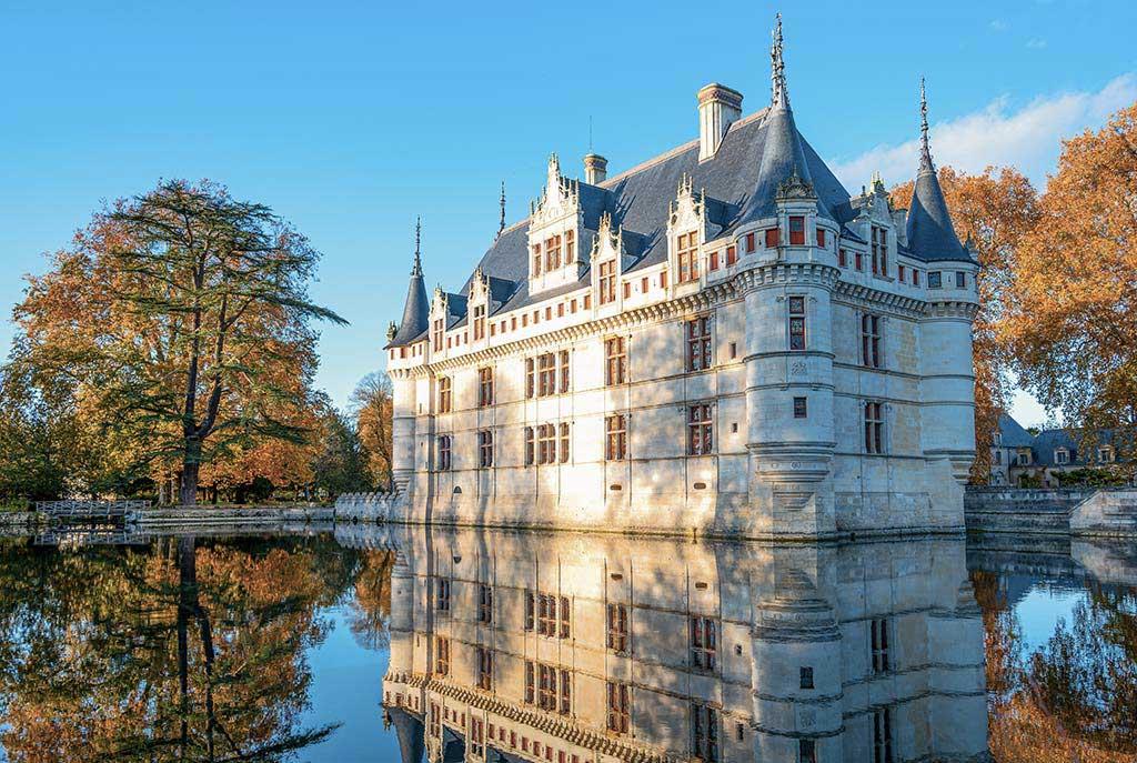 Azay-le-Rideau - Reflet
