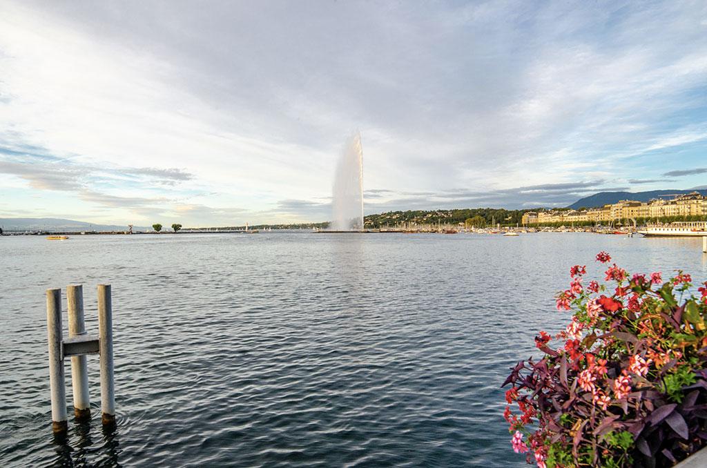 Jet d'eau Genève - Lac Léman