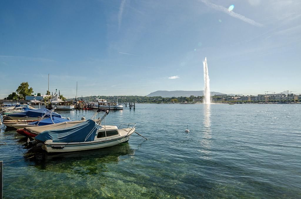 Lac Léman Port Genève