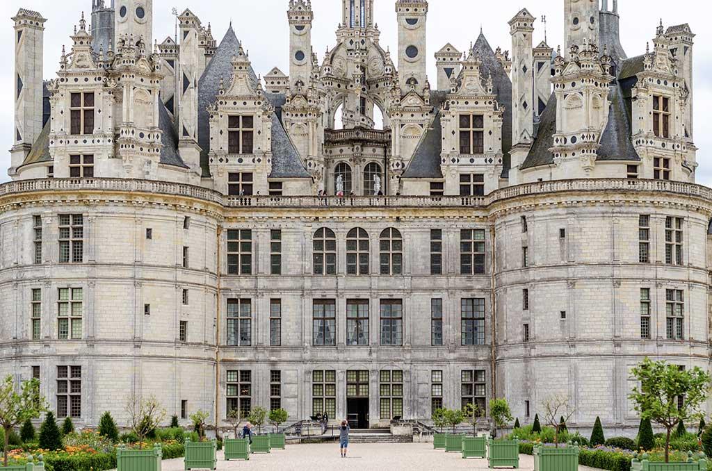 Visiter Château Chambord - Façade