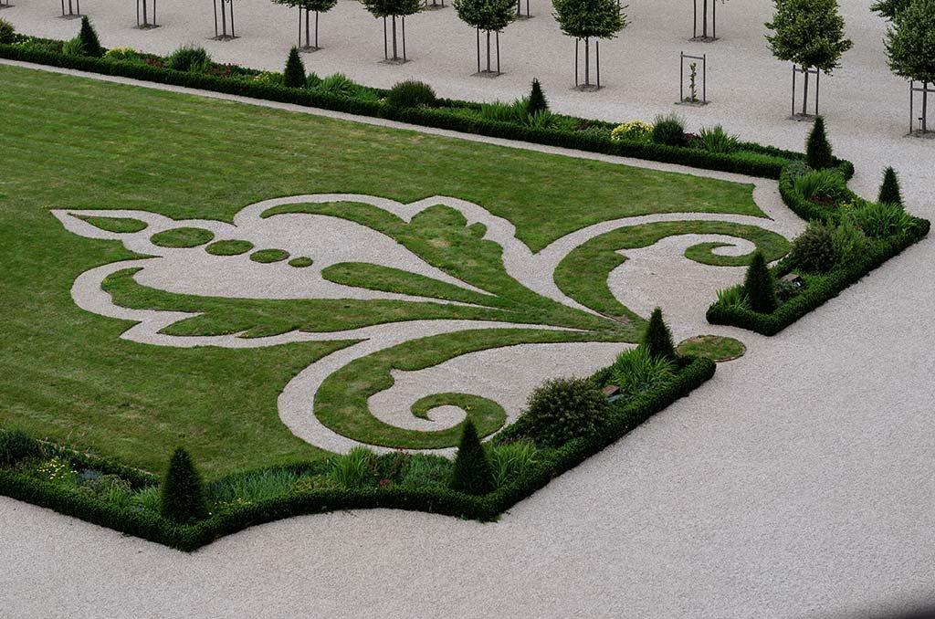 Visiter Château Chambord - Jardins à la française