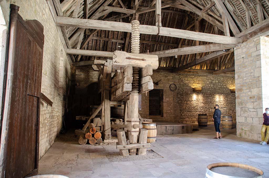 Visiter le Château du Clos de Vougeot - Cuverie