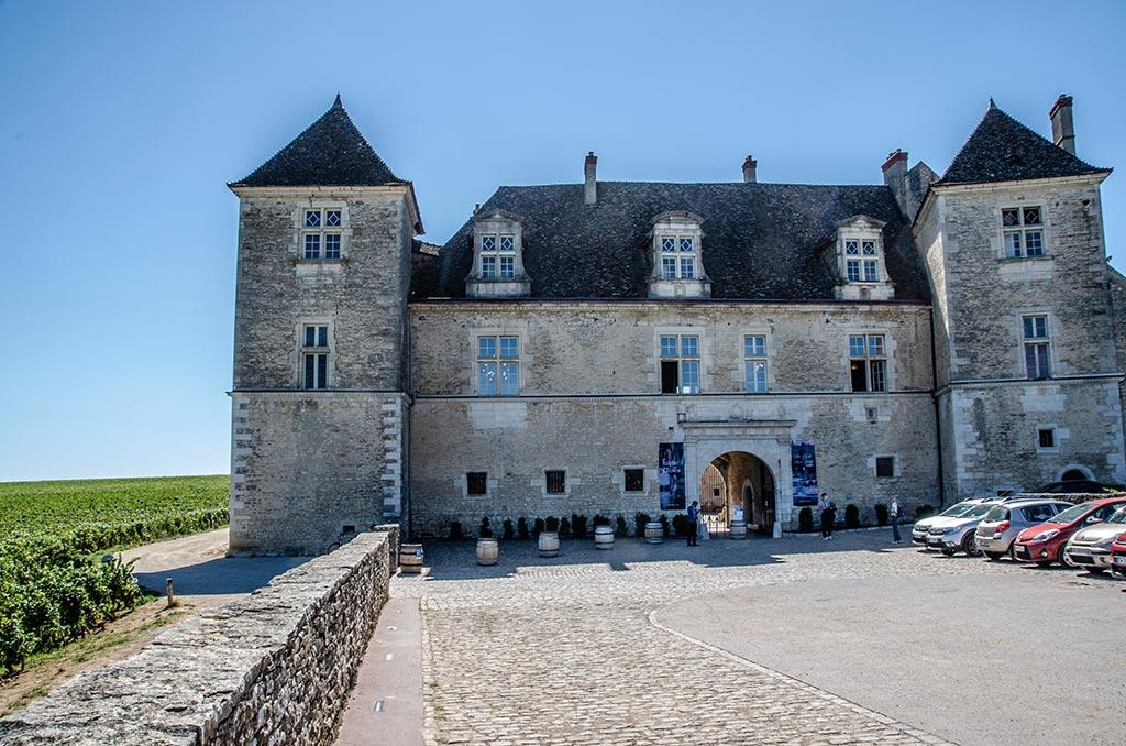 Visiter le Château du Clos de Vougeot