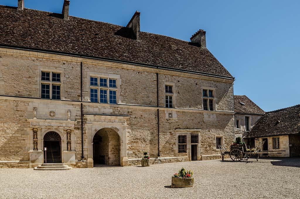 Visiter le Château du Clos de Vougeot - Entrée