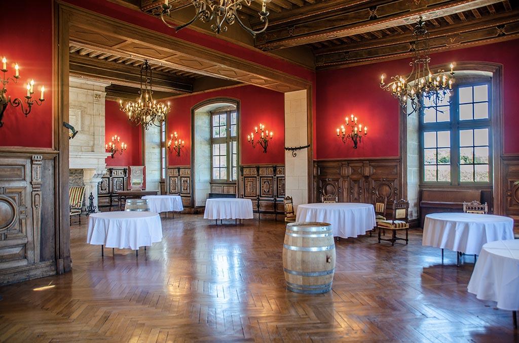 Visiter le Château du Clos de Vougeot - Intérieur