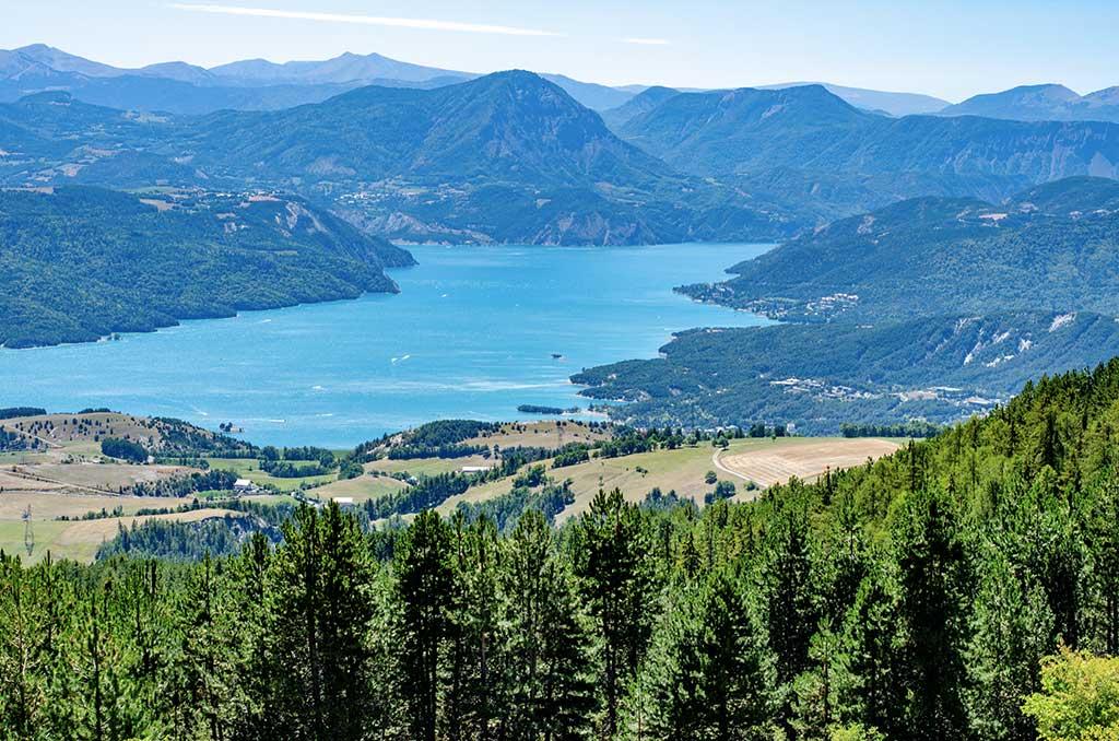 Serre-Ponçon - Vue lac
