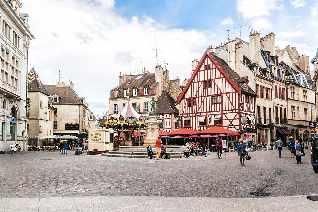 City-pass Dijon - Place du Bareuzai