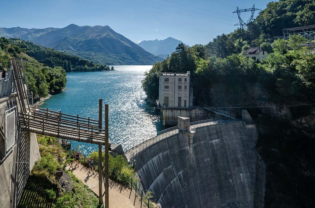 Que faire dans le Dévoluy - Lac du Sautet