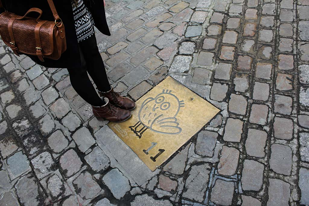 Parcours de la Chouette pour visiter Dijon