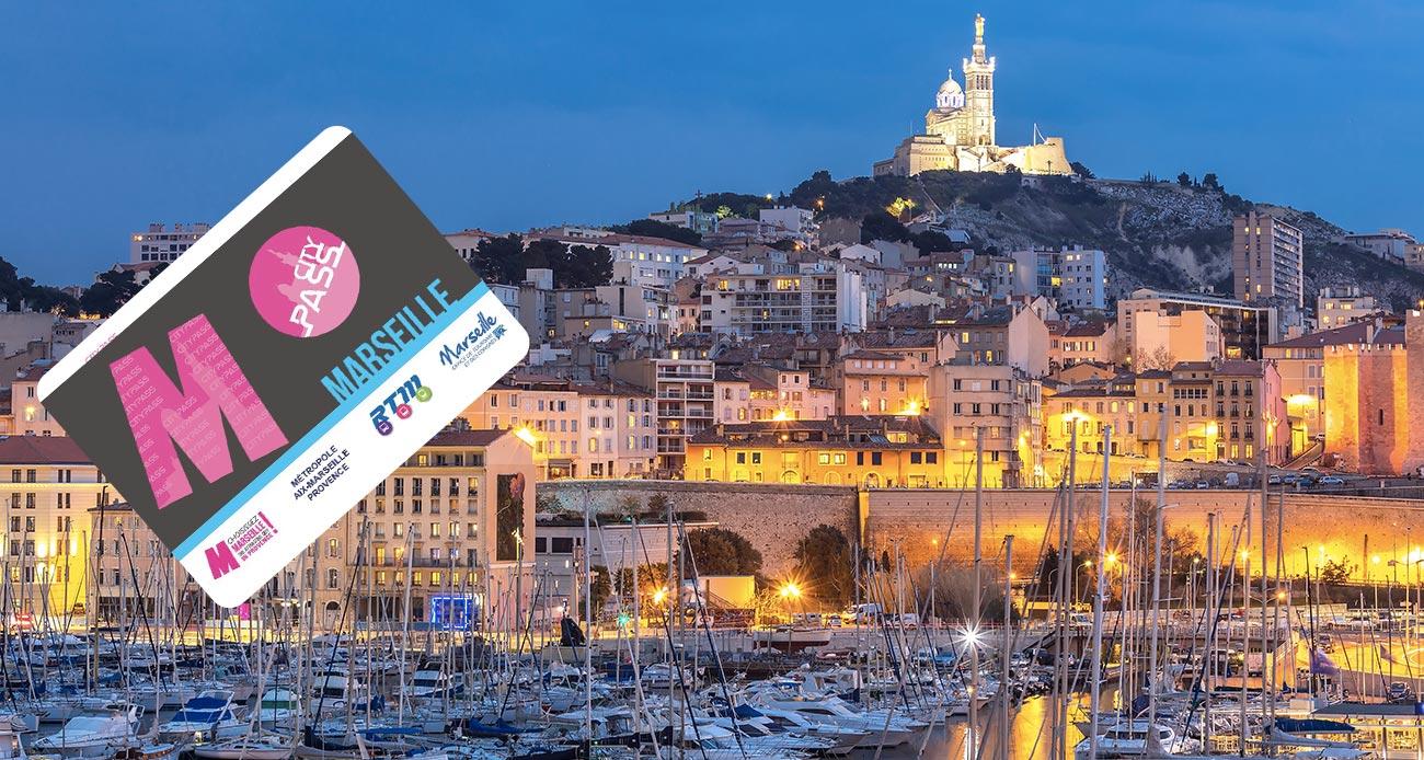 City pass Marseille - Couverture