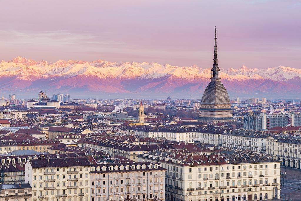Turin - Vue avec Mole