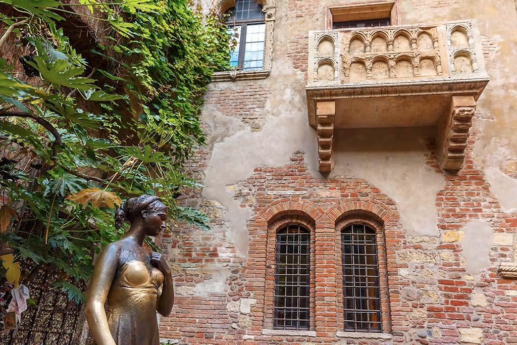 Visiter Vérone - Balcon de Juliette